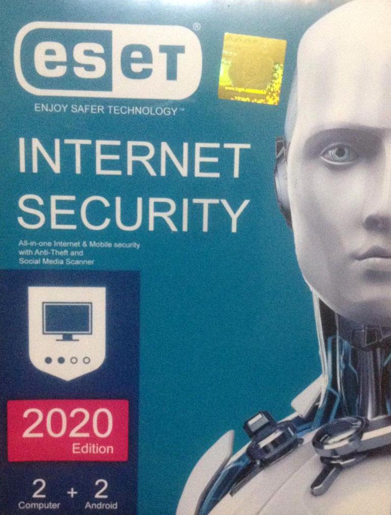 تخفیف ویژه پکیج آنتی ویروس ESET Internet Security 2020 دو کاربره