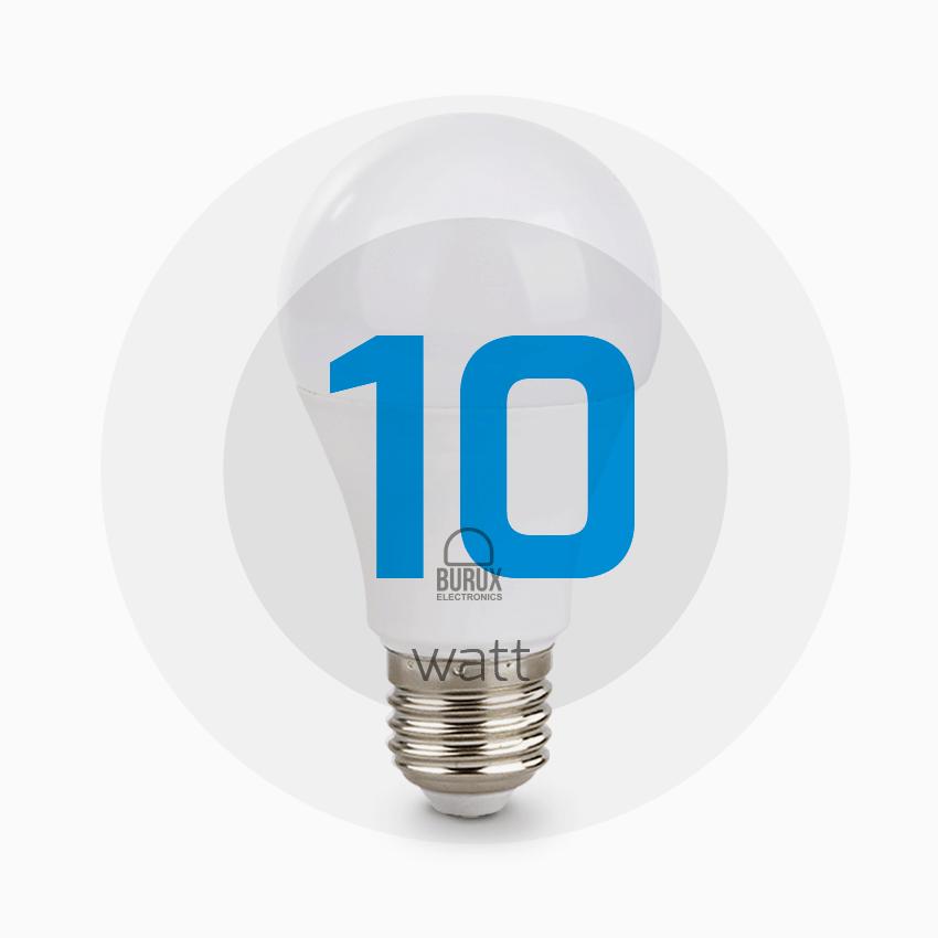 تخفیف ویژه لامپ ال ای دی 10 وات بروکس رنگ مهتابی