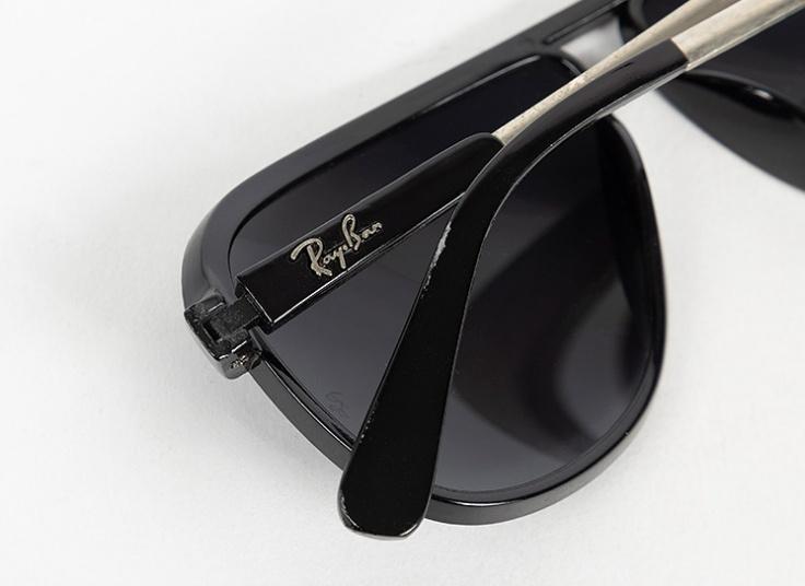 تخفیف ویژه عینک آفتابی مردانه Ray Ban مشکی مات