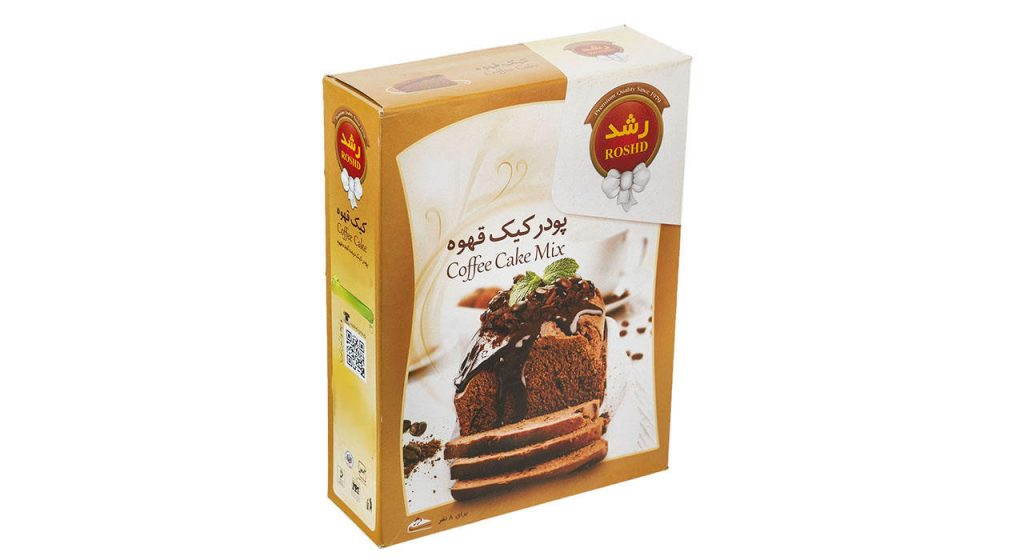 تخفیف ویژه پودر کیک قهوه رشد مقدار 400 گرم