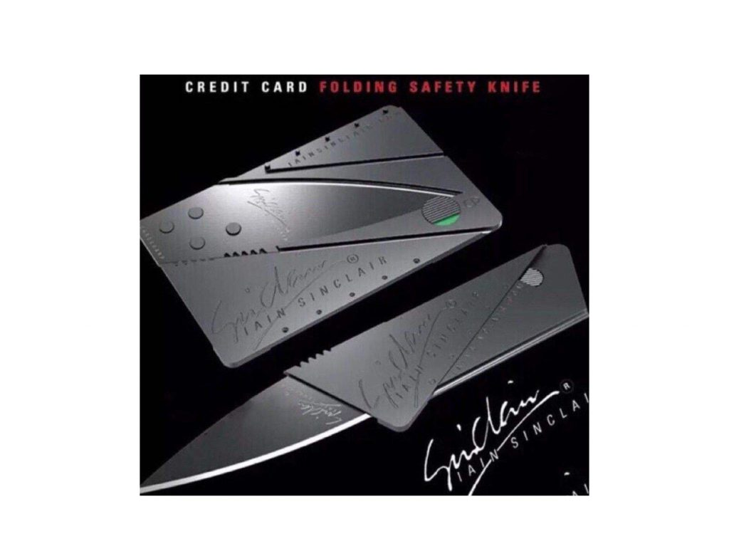 تخفیف ویژه چاقو کارتی مدل Original